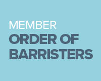 Member - Order of Barristers